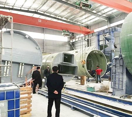 一体化提升泵站生产现场