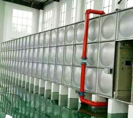 增压稳压给水箱泵一体化