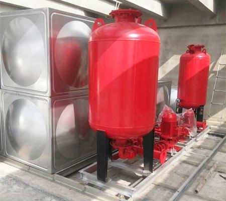 智能型箱泵一体化泵站